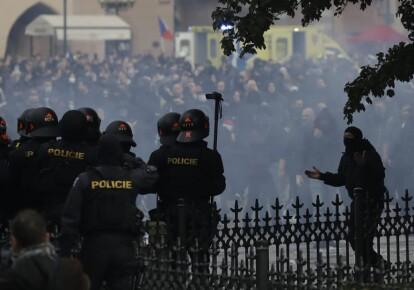 Акція протесту в Празі