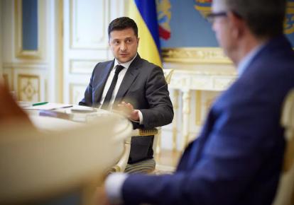 Владимир Зеленский на встрече с журналистами