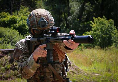 Загони спеціального призначення НГУ отримали вітчизняні штурмові гвинтівки UAR-15