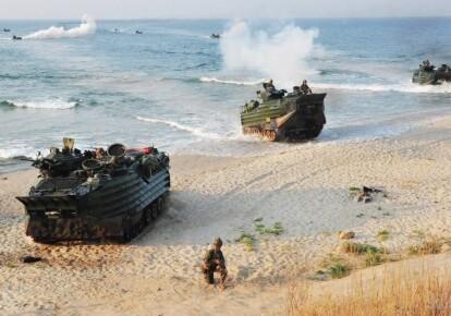 Международные военные учения в Украине. Фото: uazmi.org