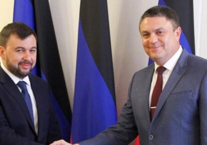 Денис Пушилін і Леонід Пасічник