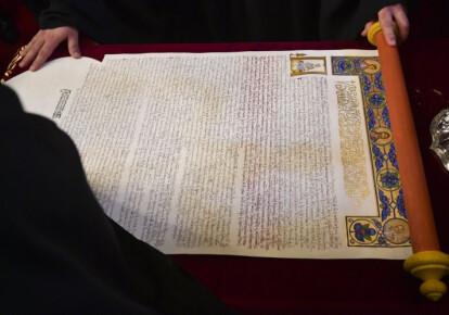 Верховный суд закрыл дело о незаконности предоставления томоса ПЦУ. Фото: УНИАН