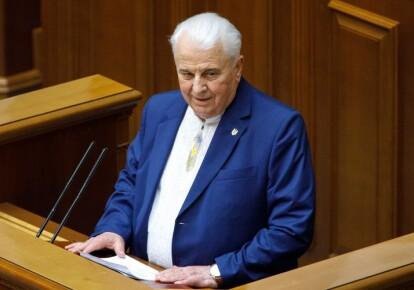 Руководитель украинской делегации в ТКГ в Минске Леонид Кравчук / УНИАН