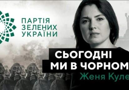 Женя Кулеба та Партія Зелених