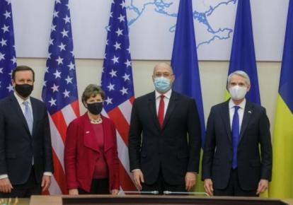 Денис Шмигаль провів зустріч із сенаторами США