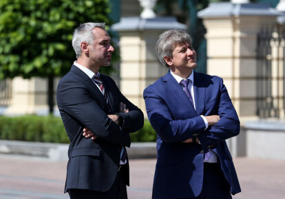 Руслан Рябошапка та Олександр Данилюк