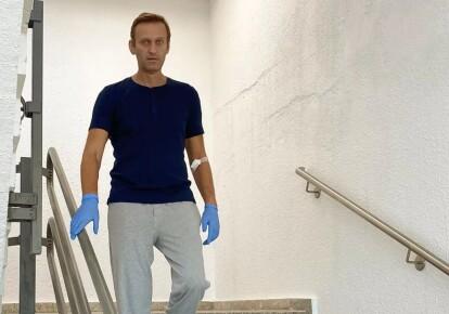 Алексей Навальный в германской клинике Шарите / instagram А.Навального