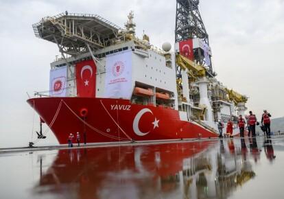 Турецьке бурове судно Yavuz
