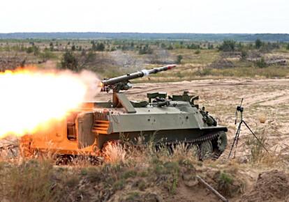 """Испытания модернизированного ракетного комплекса """"Штурм-С"""" / defence-ua.com"""