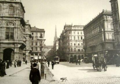 Вена, бывшая столица империи Габсбургов в первые годы после Первой мировой войны