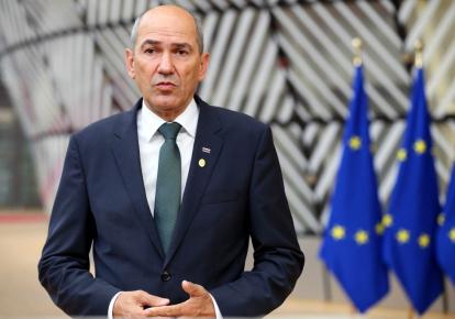 Прем'єр-міністр Республіки Словенія Янез Янша