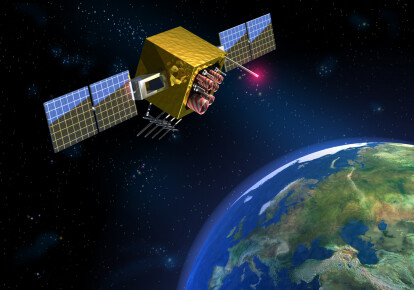 Володимир Зеленський заявив про те, що Україна в цьому році збудує і запустить супутник для дистанційного зондування землі. ілюстративне фото