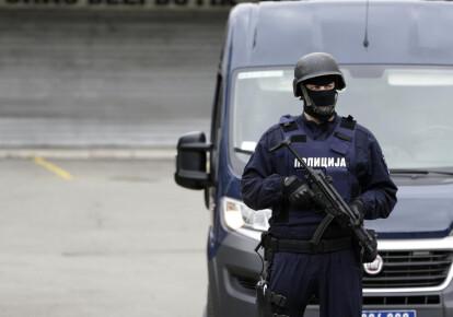 Сербский полицейский