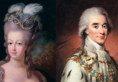 Королева Франції Марія-Антуанетта і граф Аксель фон Ферсен/Getty Images, wikipedia