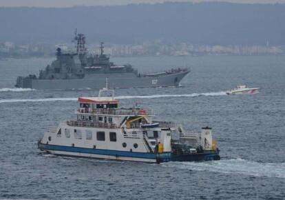 Корабли российских ВМФ