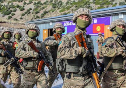 Совместные учения Казахстана и Кыргызстана 2019 г. / kabar.kg