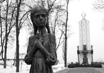 Пам'ятник жертвам Голодомору в Києві