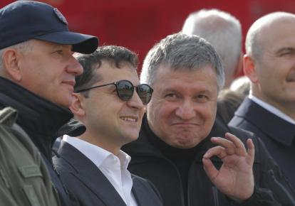 Владимир Зеленский и Арсен Аваков
