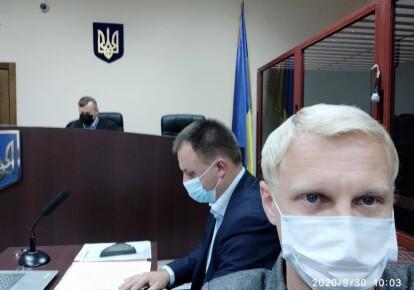 Виталий Шабунин в суде