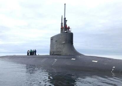 Подводная лодка США USS Seawolf (SSN-21) у берегов Норвегии / US Navy