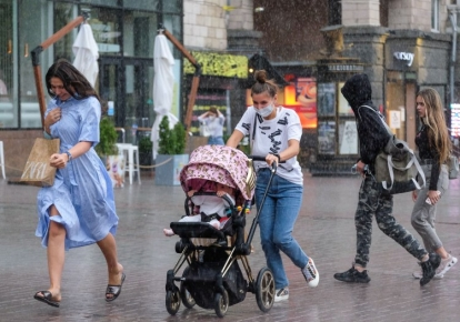 Киев накрыл ураган