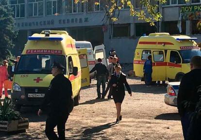 У Керчі стався вибух у політехнічному коледжі, за попередніми даними загинуло 10 осіб