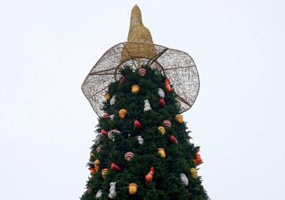 Новорічна ялинка на Софійській площі