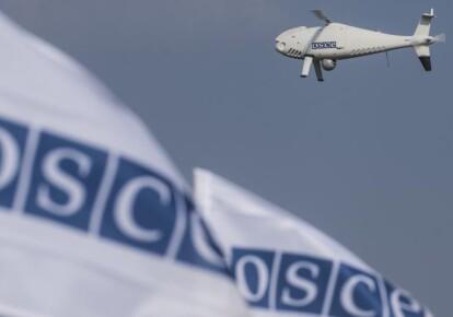 БПЛА Специальной мониторинговой миссии ОБСЕ