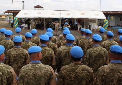 Українські миротворці