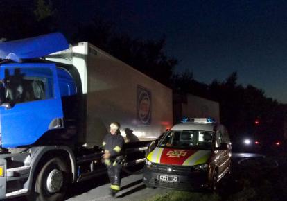 В Днепропетровской области произошло ДТП с участием двух грузовиков и легкового авто