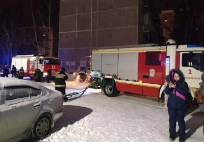 Пожежа в Єкатеринбурзі