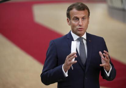 Емануель Макрон закликав Європейський союз підтримати протести у Білорусі