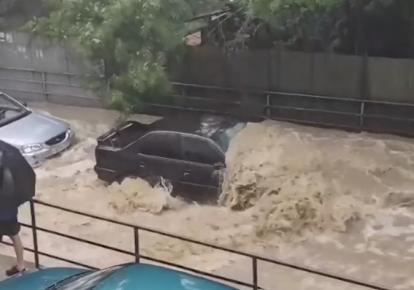 Негода в Ялті