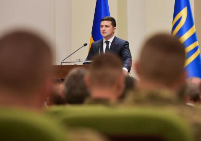 Владимир Зеленский принял участие в мероприятиях по случаю 28-ой годовщины ВСУ