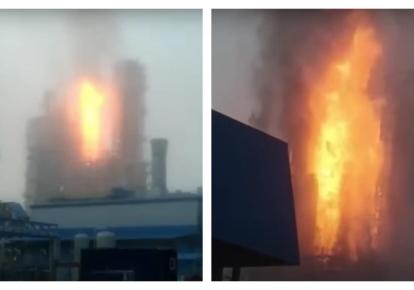 """Російський """"Газпром"""" вибухнув: почалася пожежа"""