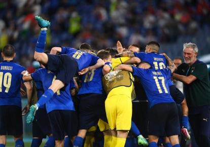 Євро-2020 Італія-Швейцарія