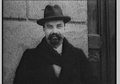 В.Винничченко (кадр з кінохроніки)