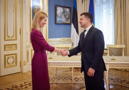 Владимир Зеленский и Кая Каллас