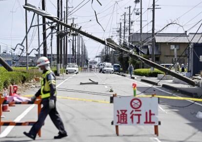Торнадо в Японії