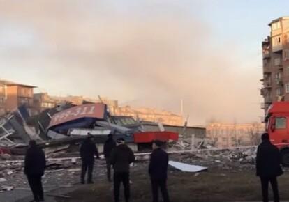 Взрыв во Владикавказе