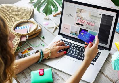 В Украине продажи через онлайн занимают порядка 7% всей розничной торговли. Фото: Shutterstock
