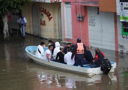 Повінь у Мексиці забрала життя поняд 82 людей, три тисячі будинків зруйновані