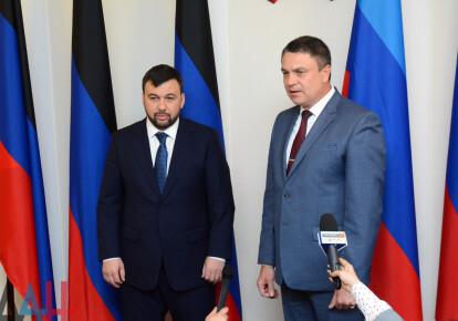 Денис Пушилин и Леонид Пасечник / novosti.icu