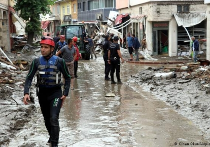 Спасатели в провинции Кастамону/dw.com