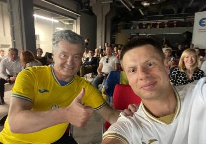 Петр Порошенко Алексей Гончаренко
