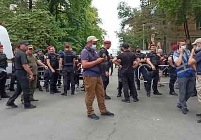 Силовики на акції в Києві