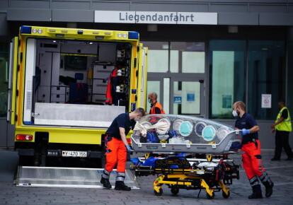 Клініка Шаріте в Берліні, Німеччина, куди доставили Олексія Навального після отруєння