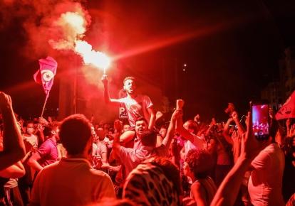 Протести в Тунісі