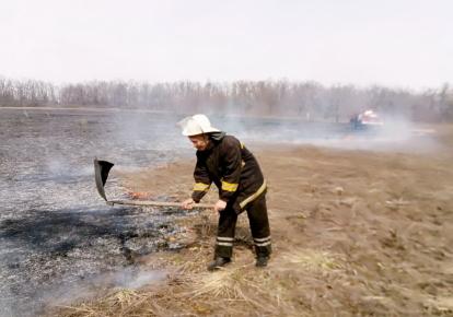 ДСНС попередила про підвищений ризик виникнення пожеж