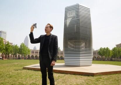 Даан Розегаард і його Smog Free Tower